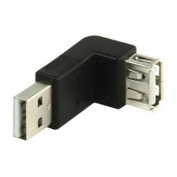 Adaptador USB en ángulo de 270º