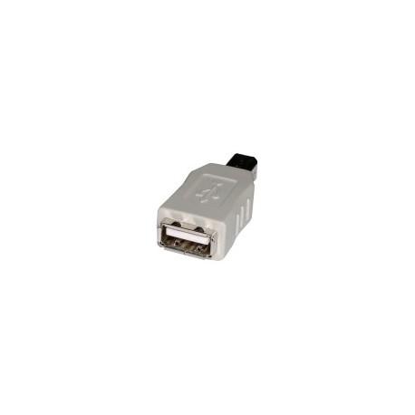 Adaptador USB A/H - B/M