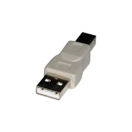 Adaptador USB A/M - B/M