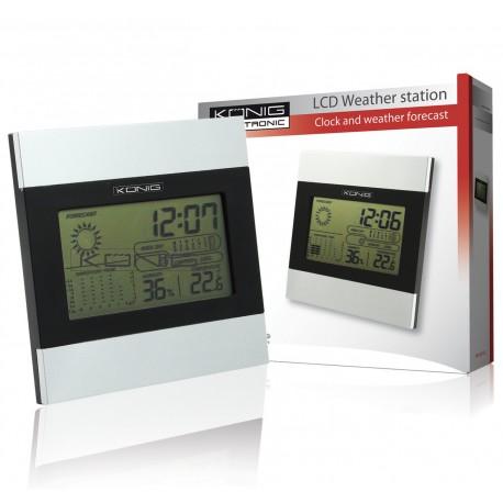 Estación metereológica LCD KONIG WS-102