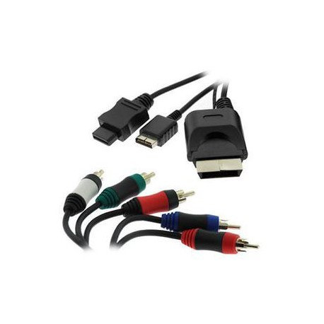 CABLE COMPONENTES WII/PS2/PS3/XBOX