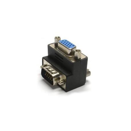 Adaptador VGA M/H Acodado