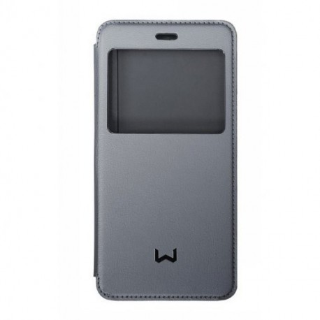 Funda View Cover Gris para Weimei We Plus