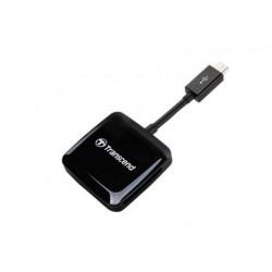 Lector Smart Reader OTG TRANSCEND (USB/MicroSD/SD)