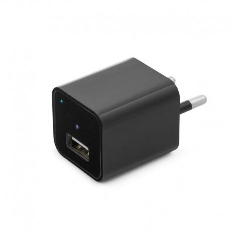 Cámara oculta en cargador USB