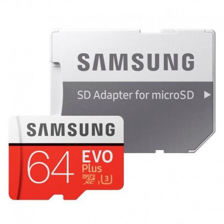 Micro SD Card 64GB SAMSUNG EVO Plus