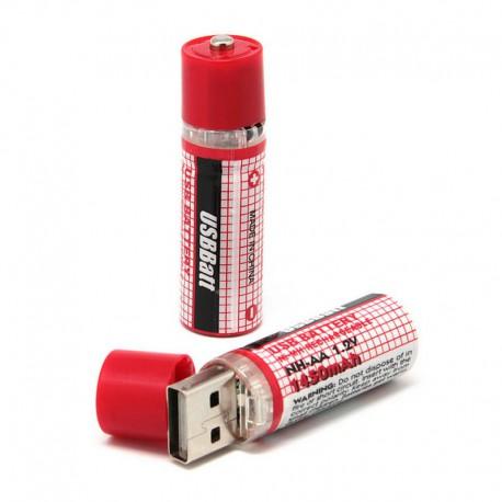 Pilas AA Recargables por USB