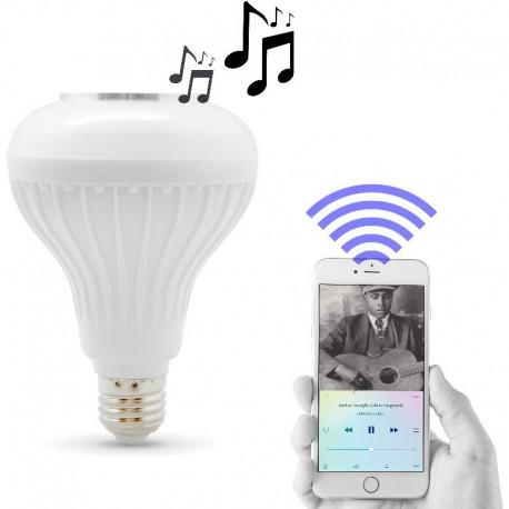Bombilla LED con Altavoz Bluetooth