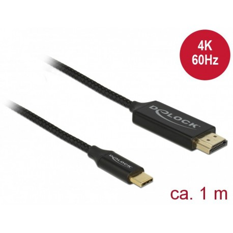 Cable USB Tipo C a HDMI 4K