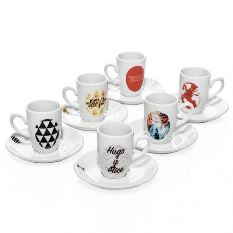 Set juegos de café personalizados para 6