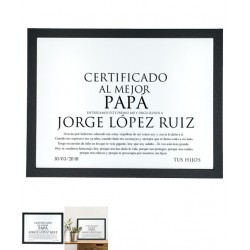 Diploma Enmarcado Nº 1