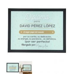 Diploma Enmarcado Nº 2