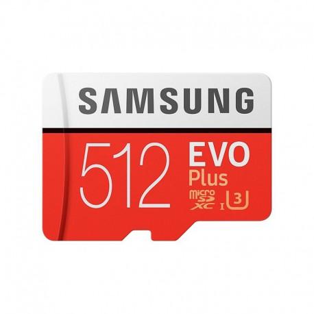 MicroSD Card 512GB SAMSUNG Evo Plus Clase 10