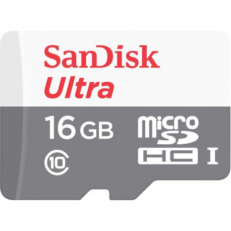 MicroSD Card 16GB SANDISK Ultra