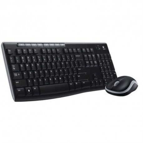 Teclado Logitech Wireless Combo MK270