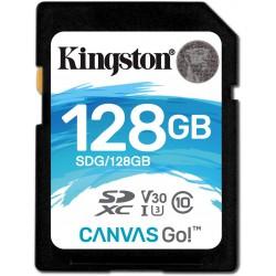 KINGSTON CANVAS GO! 128GB SDXC UHS-I CLASE 10