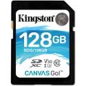 KINGSTON 128GB CANVAS GO SDXC UHS-I CLASE 10