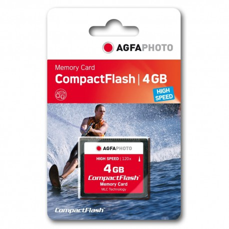 Compact Flash AGFA 4GB 120X High Speed