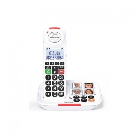 Teléfono Senior Inalámbrico SWISSVOICE XTRA 2155
