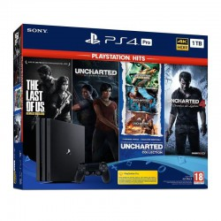 SONY PS4 Pro 1TB + Pack 4 Juegos