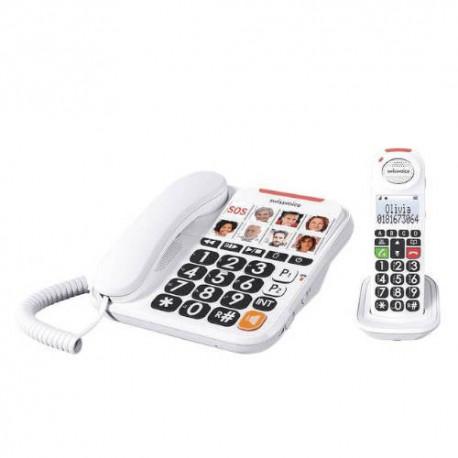 Teléfono Senior Combo SWISVOICE XTRA 3155