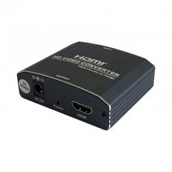 Conversor VGA + Audio 3,5  mm - HDMI