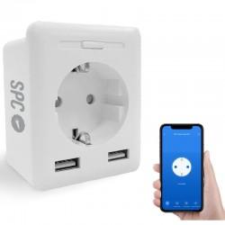 Enchufe Inteligente WiFi SPC Clever Plug USB