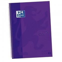 Cuaderno con Espiral Cuadriculado Oxford European Book