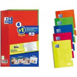 Cuadernos con Espiral Cuadriculados + Pizarras Blancas Oxford 400122761